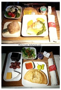 delta meals 1st class delta points blog
