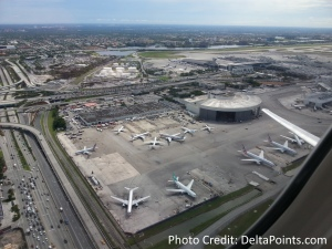mia airport at takeoff delta points blog