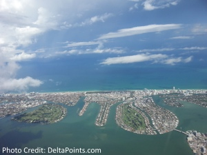 miami beach from air delta points blog