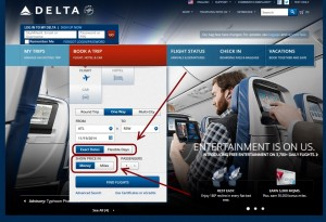 new booking boxes show up on Delta-com