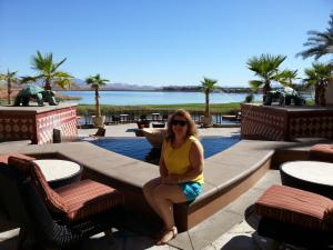 Westin Lake Las Vegas sitting area off lobby Delta Points blog