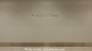 Centurion Lounge LGA LaGuardia Airport american express delta points blog inside entrance (1)