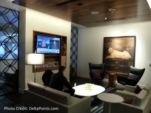 SFO San Francisco AMEX Centurion lounge Delta Points blog (11)