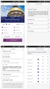 skyteam app info about atl atlanta airport