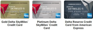 3 delta amex cards