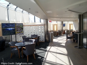 DFW Dallas  Fort Worth E Delta Skyclub 10 – 2015 Delta Mileage Run