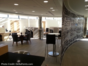 DFW Dallas  Fort Worth E Delta Skyclub 9 – 2015 Delta Mileage Run