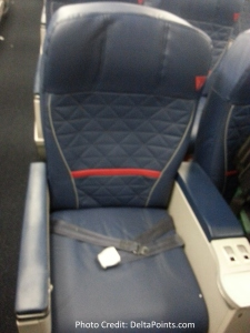 Delta 767-300 domestic 1st class seat 1 Delta points blog