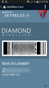 rene diamond car in app