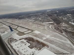 snow at dtw detroit at liftoff delta points blog
