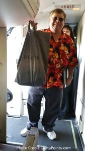 texas yankee carryon bag eat mileage run