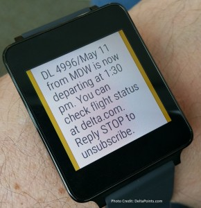 fly delta app on LG G watch android wear delta points review (1)
