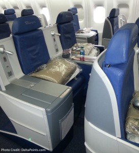 DeltaONE center seat best middle seat delta points blog
