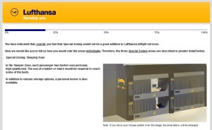 Lufthansa business class new product survey delta points blog (2)