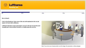 Lufthansa business class new product survey delta points blog (6)