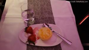 Virgin Atlantic Dining Upper Class Atlanta to Manchester Delta Points blog (4)