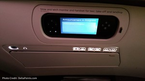 Virgin Atlantic seat contols and side IFE controls A330 Upper Class Delta Points blog