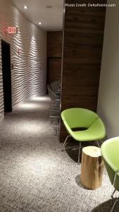 Centurion Club Miami work area right of reception desk delta points blog
