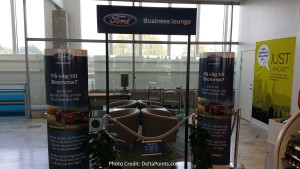 FORD business class lounge GOT delta points blog (1)