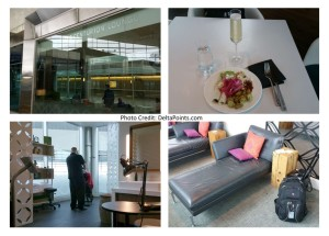 a visit to the centurion lounge dfw on a busted delta mileage run