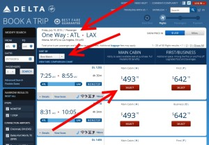 default search atl to lax one way 10july15