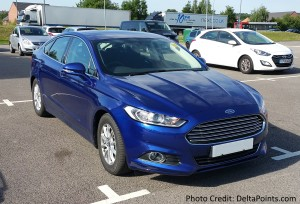 ford mondeo rented from hertz by delta points blog