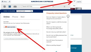 step one for amex chat online