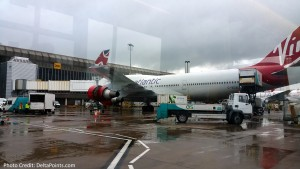 virgin 747 manchester airport MAN delta points blog