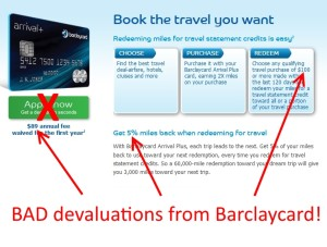 bad new rules for arrival plus mastercard