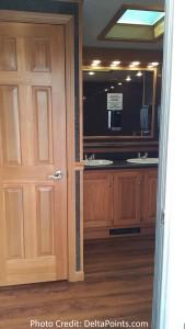 bathroom sarazen suite 2015 PGA Championship Whistling Straits Kohler Wisconsin delta points blog