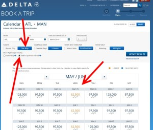 delta one-way search on delta-com