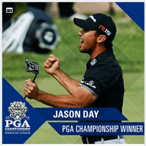 jason day 2015 PGA Championship Whistling Straits Kohler Wisconsin winner