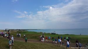 view of 16th hold 2015 PGA Championship Whistling Straits Kohler Wisconsin delta points blog