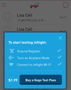 updates to gogo text now charging for use vs free beta (1)