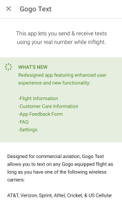 updates to gogo text now charging for use vs free beta (3)
