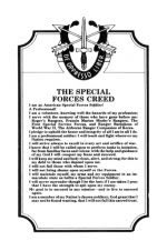 THE SPECIAL FORCES CREED