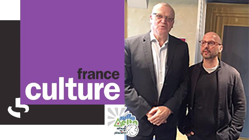 Ailleurs sur la planète : Psychologie et Franc-Maçonnerie – 16 juillet 2017 – Frédéric-Pierre Isoz sur France Culture