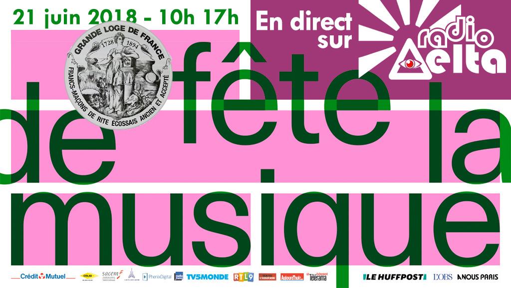 Gadlu Reporter en direct ! Fête de la musique à la Grande Loge de France – 21 juin 2018