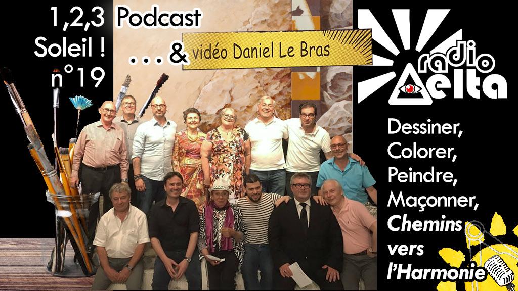 1,2,3, Soleil ! #19 – 29 juin 2018 – Podcast et vidéo de l'émission « Dessiner, peindre, sculpter, pour qui, pourquoi, comment, etc. »