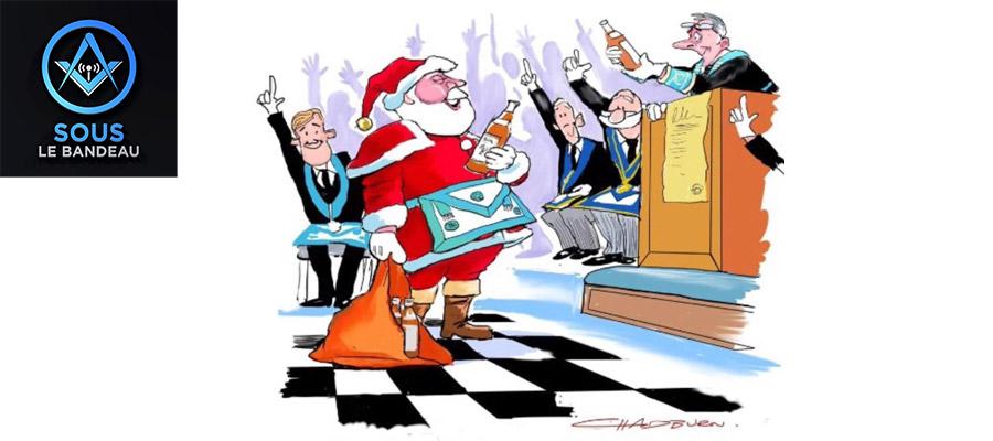 Sous le Bandeau – Émission #18 – La magie de Noël en Franc-Maçonnerie
