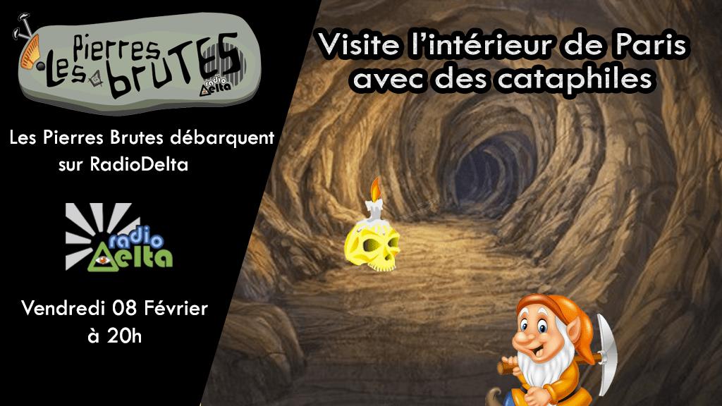 Les Pierres Brutes #6 – 8 février 2019 – Visite de l'intérieur de Paris avec des Cataphiles