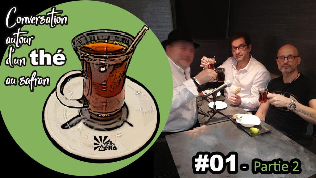 Conversation autour d'un thé au safran #1 – « Le réel 2ème partie » – Frédéric-Pierre Isoz – Le Réel – 18 avril 2019 – Podcast