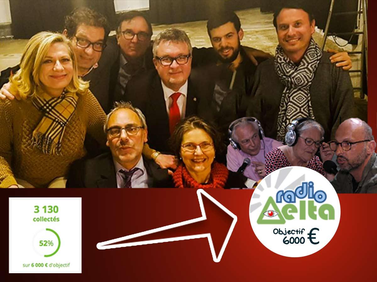 Merci à nos 60 premiers donateurs :) La cagnotte continue, RadioDelta a de nouveaux projets, nous avons besoin de vous !