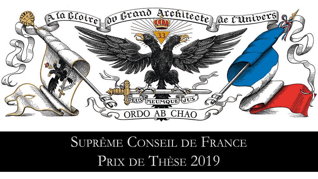 Gadlu Reporter Live : Prix de Thèse du Suprême Conseil de France – 20 juin 2019