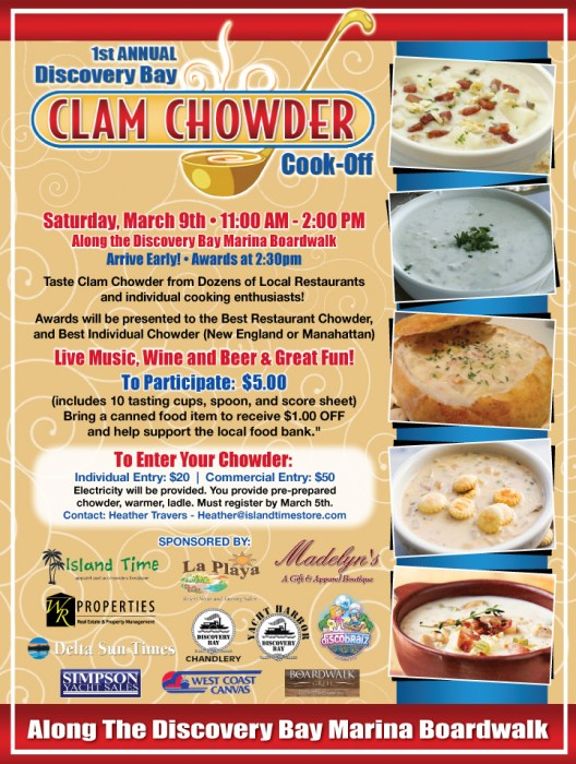 Chowder Cook Off Poster