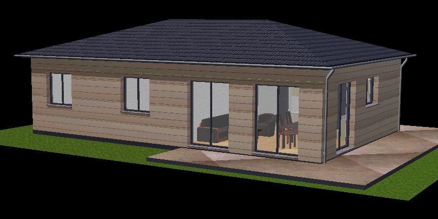 DeltaWood  Constuction de maisons a ossature bois  maison contemporaine bois