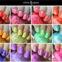China Glaze - Lite Brites (презентация)