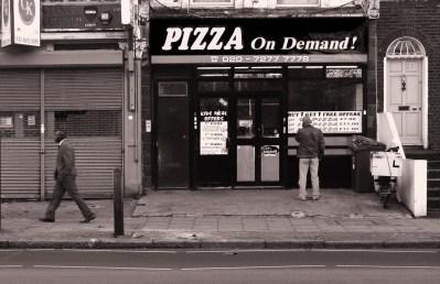 pizza on demand londra