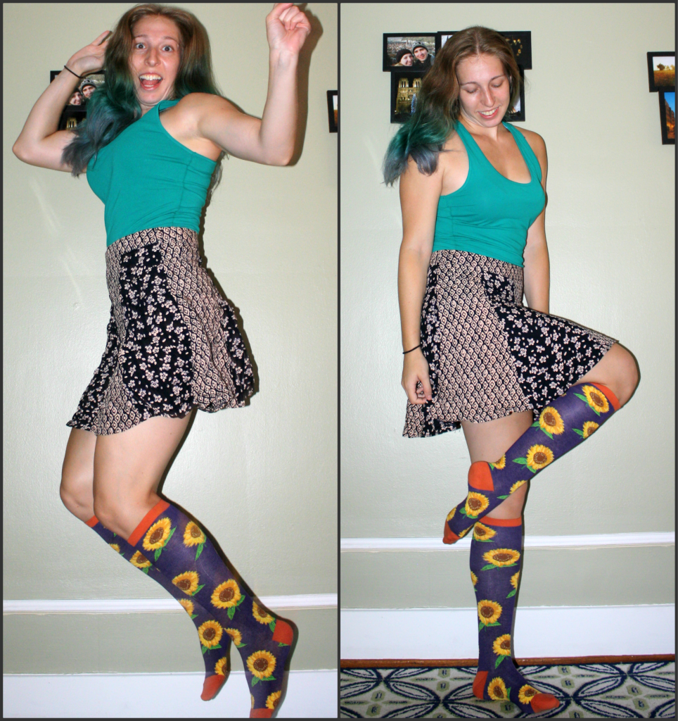 Some Fashion Fun With Chrissys Knee High Socks: A Review Deluded Reviews