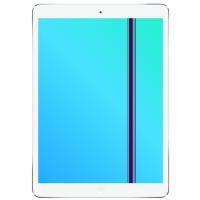 iPad Air 1 Display LCD ohne Glas Reparatur Austausch Weiss ...